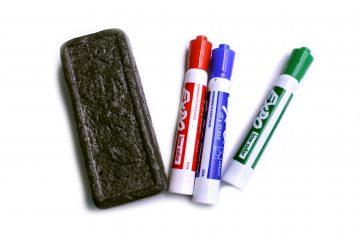 Marker and Eraser