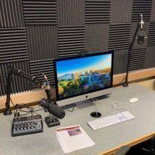 CLC DIY media station computer and mics