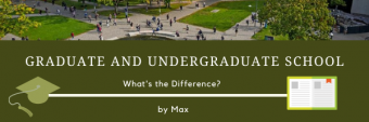 Graduate and Undergraduate School. What's the difference?