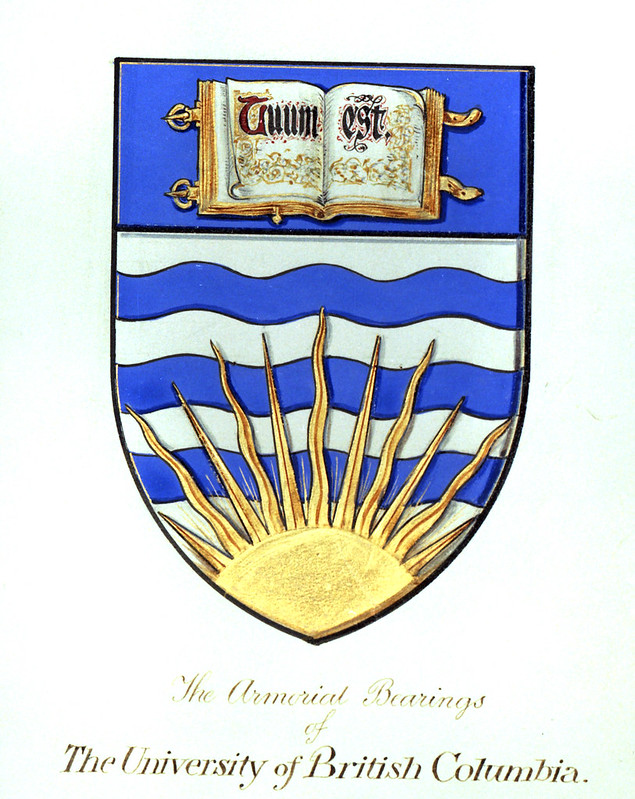 Image of old UBC crest